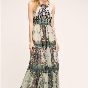Anthropologie Madera Maxi Dress